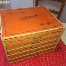 Antigüedades: CAJONERA - HILATURAS DE FABRA Y COATS - BARCELONA - MEDIDAS; 33 X 27 X 24 CMS.. Lote 194554015