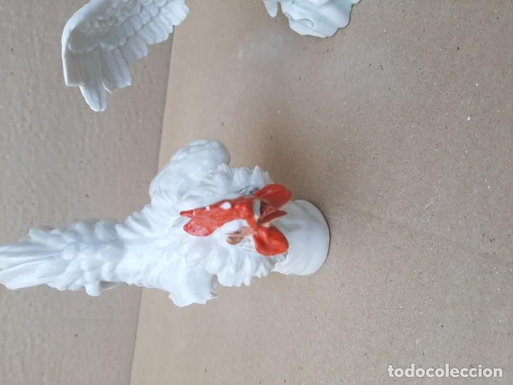 Antigüedades: Dos gallos de Algora - Foto 7 - 194554500