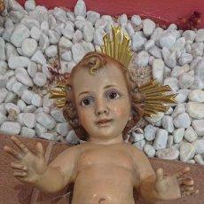 Antigüedades: NIÑO JESÚS, IMAGINERIA RELIGIOSA DE OLOT . Lote 194555953