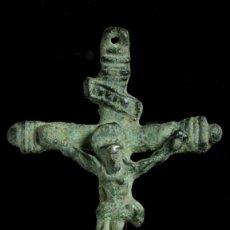 Antigüedades: CRUZ RELIGIOSA SIGLOS XVI-XVII, 58X33 MM.. Lote 194564518