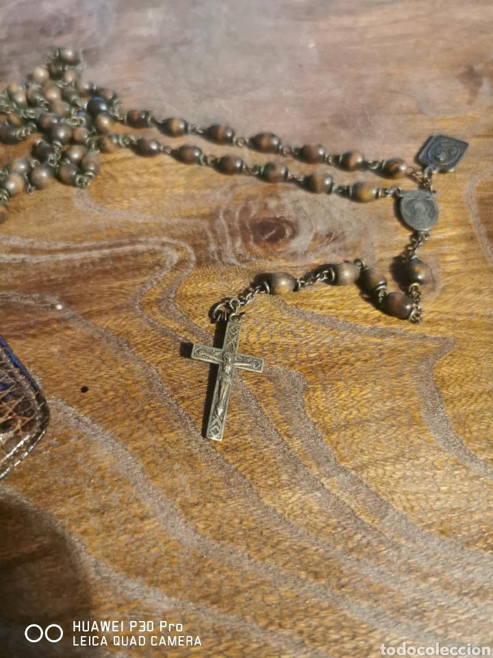 ROSARIO ANTIGUO NUESTRA SEÑORA DE LA CABEZA (Antigüedades - Religiosas - Rosarios Antiguos)