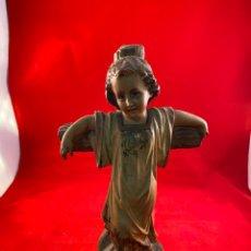 Antigüedades: TALLA NIÑO JESÚS ESCUELA OLOT. Lote 194573852