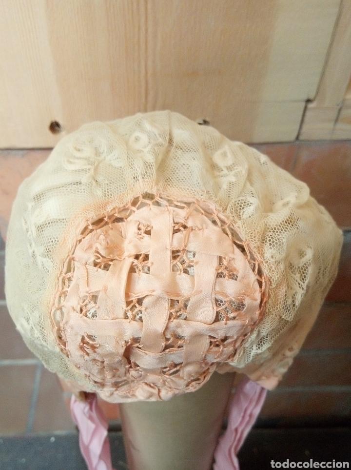 Antigüedades: Gorrito de acristianar Ppios S. XX - Foto 2 - 194578805