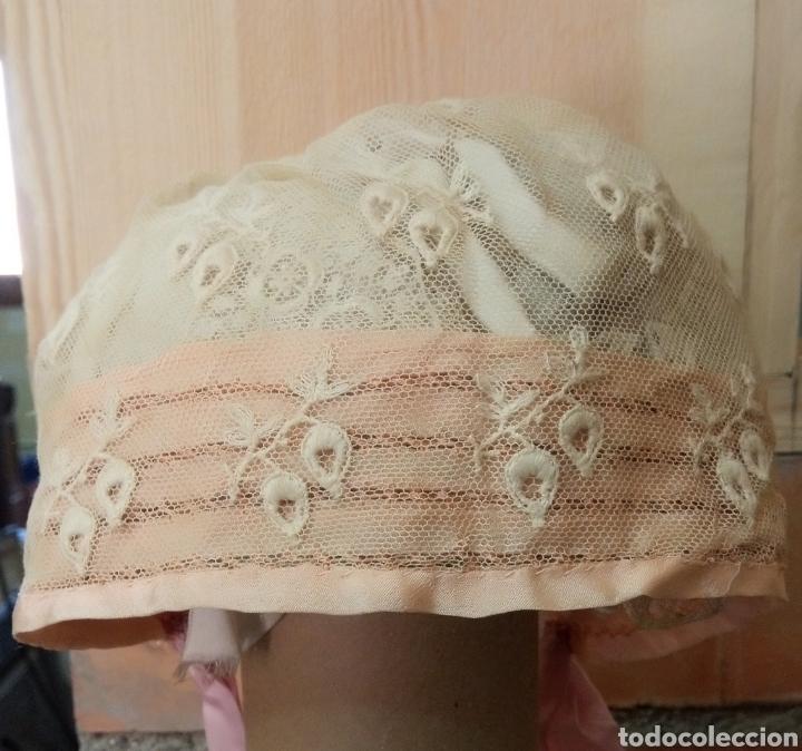 GORRITO DE ACRISTIANAR PPIOS S. XX (Antigüedades - Moda y Complementos - Infantil)
