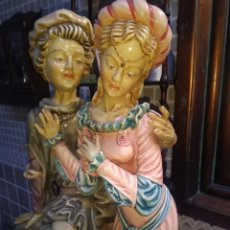 Antigüedades: FIGURA ENAMORADOS. Lote 194581055