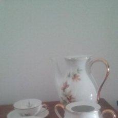 Antigüedades: DESPIECE JUEGO CAFÉ. SANTA CLARA.. Lote 194582378