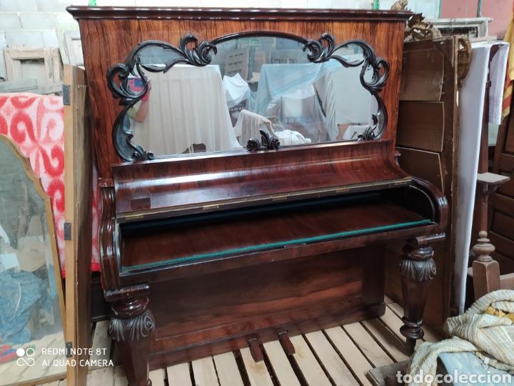 ESCRITORIO PIANO (Antigüedades - Muebles Antiguos - Escritorios Antiguos)
