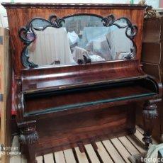 Antigüedades: ESCRITORIO PIANO. Lote 194586125
