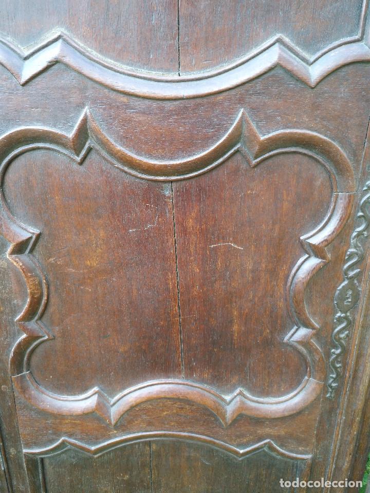 Antigüedades: Puertas antiguas de armario - Foto 4 - 194591636
