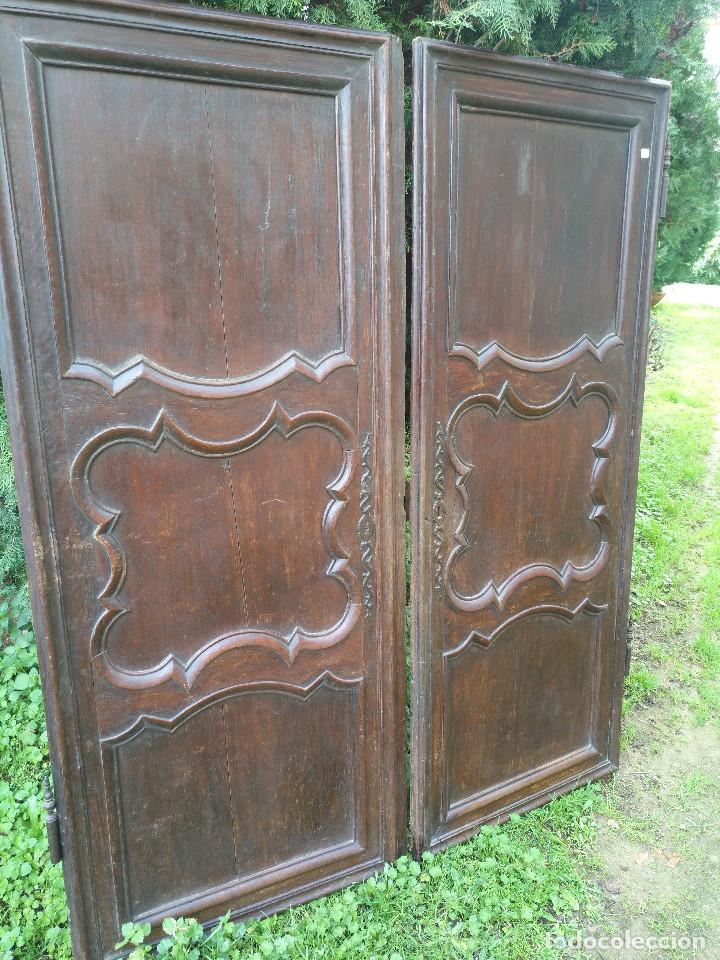 Antigüedades: Puertas antiguas de armario - Foto 8 - 194591636