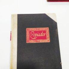 Antigüedades: ANTIGUO LIBRO COPIADOR ,SIN USO.. Lote 194593242