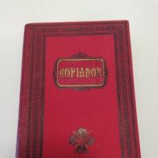 Antigüedades: ANTIGUO LIBRO COPIADOR.. Lote 194593841