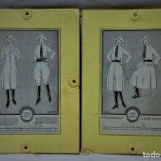 Antigüedades: PATRONES GRADUABLES MARTÍ.FALDA,BLUSA,LEVITA Y CALZONES.INSTRUCCIONES,2 CARPETAS Y PATRONES. Lote 194594620