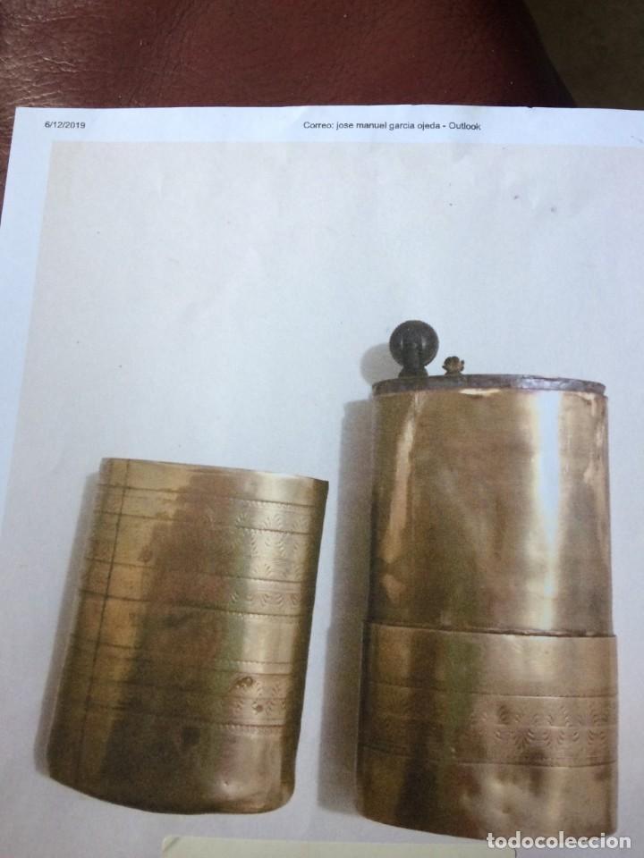 MECHERO GASOLINA GRANDE DE LATON 12CMS.X6CMS. (Antigüedades - Varios)