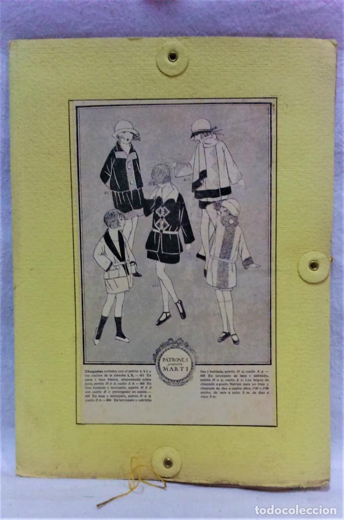 PATRONES GRADUABLES MARTÍ.CHAQUETAS.INSTRUCCIONES DE USO,LÁMINAS Y 3 PLANCHAS PATRONES (Antigüedades - Moda - Otros)