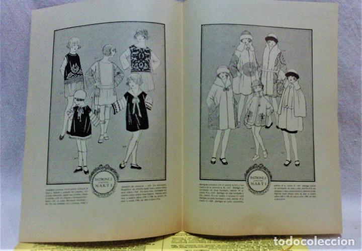 Antigüedades: PATRONES GRADUABLES MARTÍ.CHAQUETAS.INSTRUCCIONES DE USO,LÁMINAS Y 3 PLANCHAS PATRONES - Foto 5 - 194595577