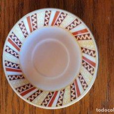 Antigüedades: PLATOS DE CAFE ANTIGUOS.. Lote 194600012