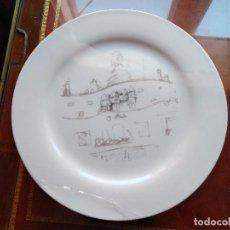 Antigüedades: 4 GRANDES PLATOS GAUDÍ, SERIE LIMITADA, LA PEDRERA, 31 CM. EMBALADOS.. Lote 194600693