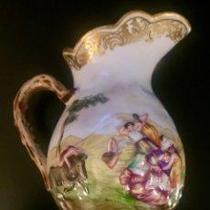 Antigüedades: JARRA DE LECHE GINORI PARA CAPODIMONTE EN PORCELANA . S.XIX/ XX. Lote 194608557