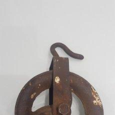 Antigüedades: ANTIGÜA POLEA. Lote 194609325