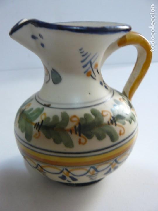 PEQUEÑA JARRA DE CERAMICA DE TALAVERA - MAVE XXIX. (Antigüedades - Porcelanas y Cerámicas - Talavera)