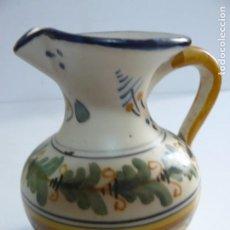 Antigüedades: PEQUEÑA JARRA DE CERAMICA DE TALAVERA - MAVE XXIX.. Lote 194621662