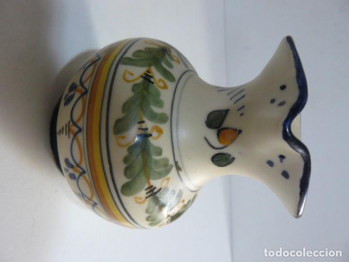 Antigüedades: PEQUEÑA JARRA DE CERAMICA DE TALAVERA - MAVE XXIX. - Foto 2 - 194621662