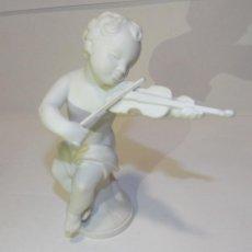 Antigüedades: PORCELANA DE BISCUIT BIDASOA TOCANDO EL VIOLÍN. Lote 194625161