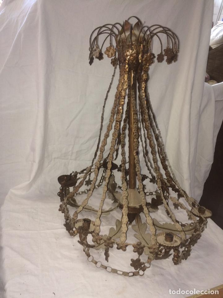 ANTIGUA Y PRECIOSA LAMPARA DE VELAS! (Antigüedades - Varios)