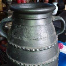 Antigüedades: ESPECTACULAR ORZA ANTIGUA. Lote 194633052