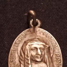Antigüedades: ANTIGUA MEDALLA DE STA. LUISA DE MARILLAC (146). Lote 194633060