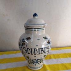 Antigüedades: ESPECTACULAR TIBOR ANTIGUO DE FARMACIA. Lote 194635451