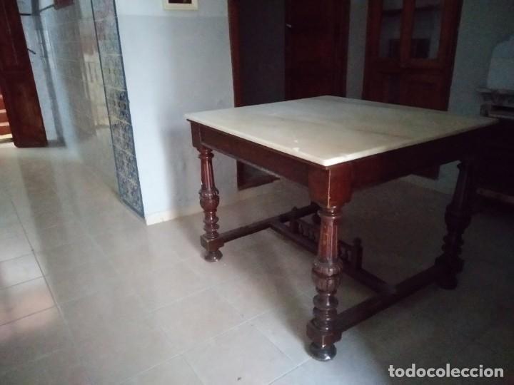 Antigüedades: Antigua mesa Alfonsina - Foto 4 - 194197943