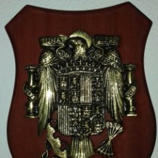 Antigüedades: METOPA BRONCE ESPAÑA ÁGUILA DE SAN JUAN,IMPERIAL,FRANCO. Lote 194648130