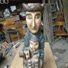 Antigüedades: TALLA ROMANICA. Lote 194650753
