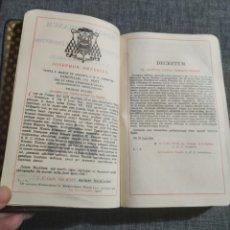 Antigüedades: MISAL ROMANO EN LATIN. Lote 194654712