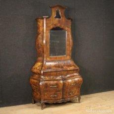 Antigüedades: TRUMEAU VENECIANO EN NOGAL, ARCE Y HAYA. Lote 194664982