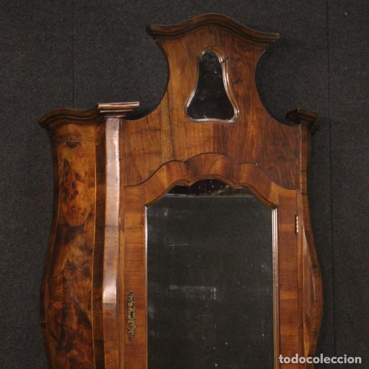 Antigüedades: Trumeau veneciano en nogal, arce y haya - Foto 2 - 194664982