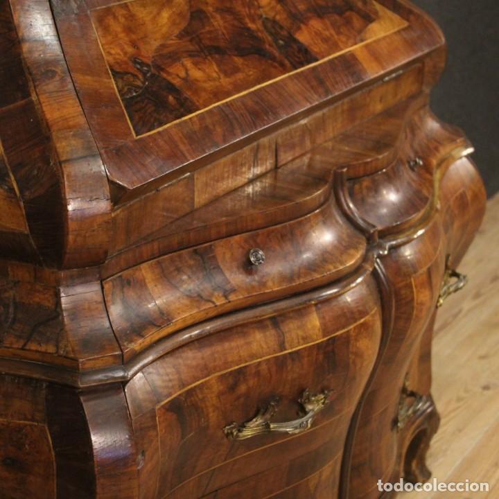 Antigüedades: Trumeau veneciano en nogal, arce y haya - Foto 4 - 194664982