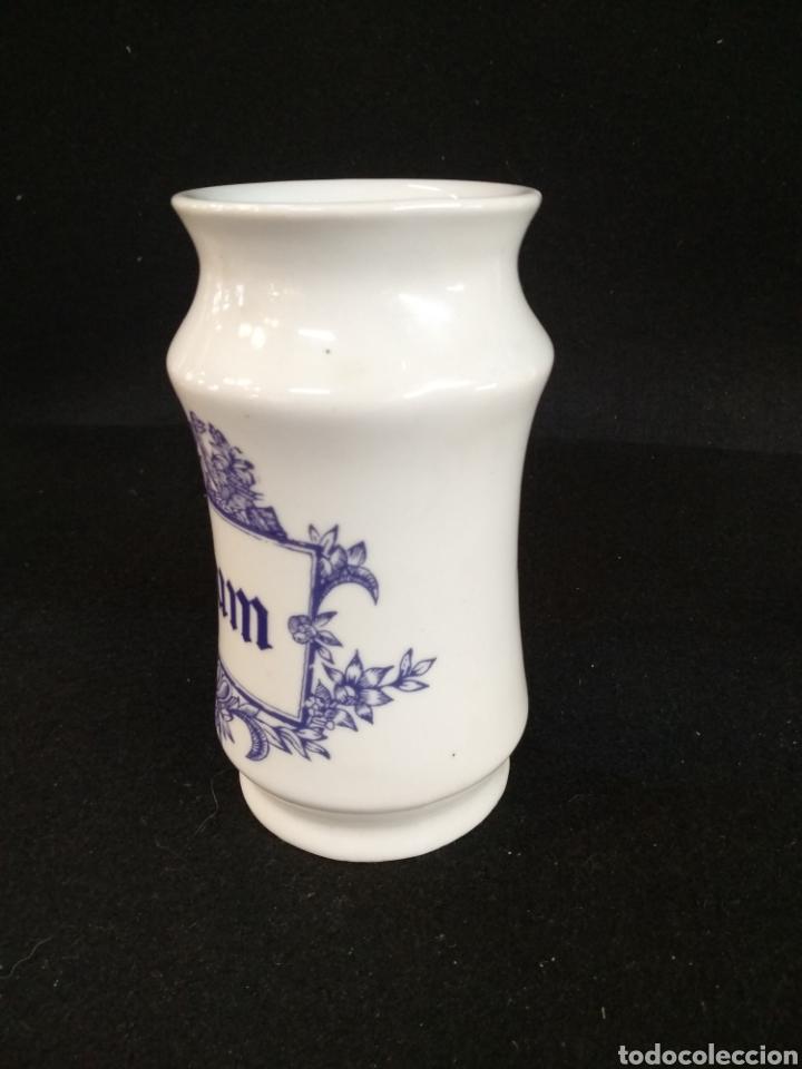 Antigüedades: Conjunto de albarelos / tarros. Opium y Salvia. Cerámica Isard. - Foto 4 - 194668315
