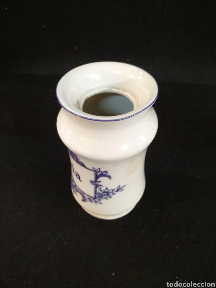 Antigüedades: Conjunto de albarelos / tarros. Opium y Salvia. Cerámica Isard. - Foto 6 - 194668315