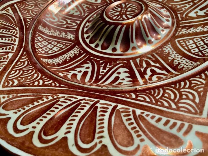 Antigüedades: Pareja de platos de cerámica refractarios - Foto 3 - 194668708
