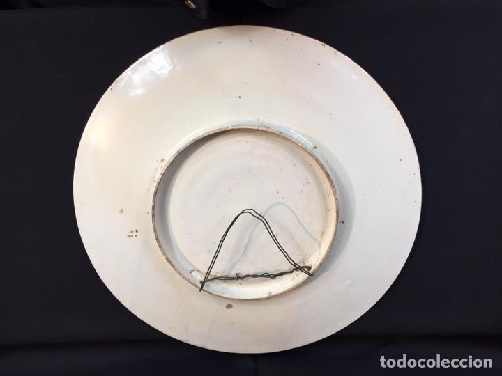 Antigüedades: Platos cerámica (talavera) DonQuijote - Foto 5 - 194669170
