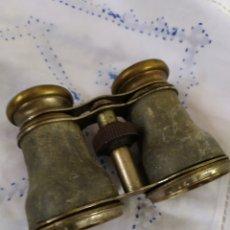 Antigüedades: MAGNÍFICOS PRISMÁTICOS DE PARÍS BRONCE SIGLO XIX. Lote 194670603