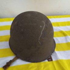 Antigüedades: ANTIGUO CASCO MILITAR METÁLICO. Lote 194670957