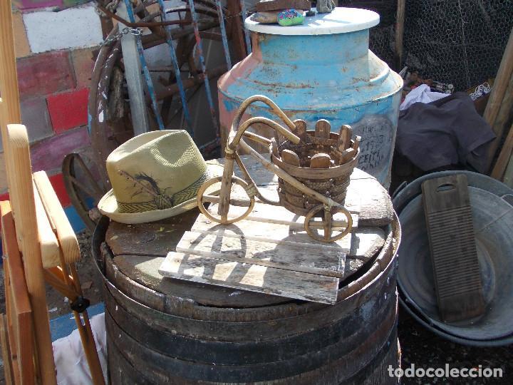 Antigüedades: macetero en forma de bici - Foto 2 - 194677075