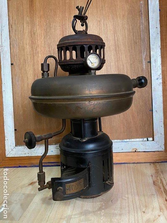 LAMPARA FAROL FOCUS PETROMAX (Antigüedades - Iluminación - Faroles Antiguos)