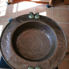 Antigüedades: BRASERO ANTIGUO. Lote 194684566