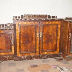 Antigüedades: MUEBLE SALÓN MODERNISTA MADERA VINTAGE APARADOR. Lote 194685208