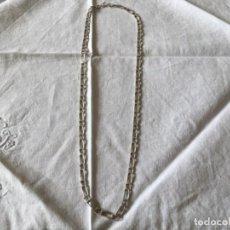 Antigüedades: CADENA DE PLATA HOMBRE . Lote 194685672